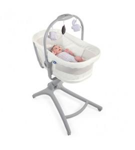 Chicco Postieľka/lehátko/stolička Chicco Baby Hug Air 4v1 Stone