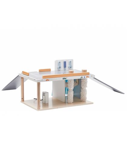 Kids Concept Autoservis Aiden drevený