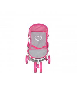 MILLY MALLY Kočík pre bábiky Susie Prestige Pink