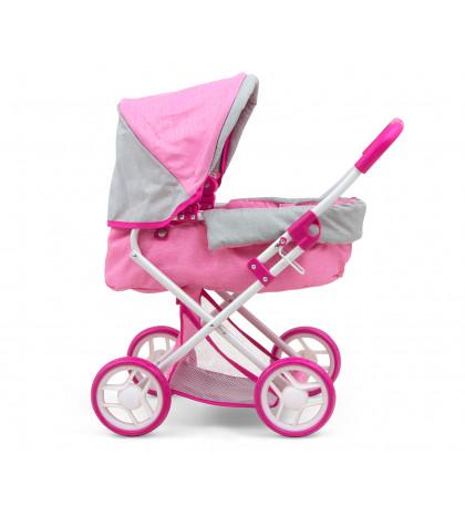 MILLY MALLY Kočík pre bábiky Alice Prestige Pink