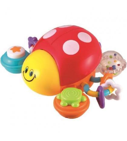 SMILY PLAY Interaktívna hračka Lienka