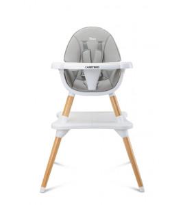 CARETERO Jedálenská stolička TUVA GREY