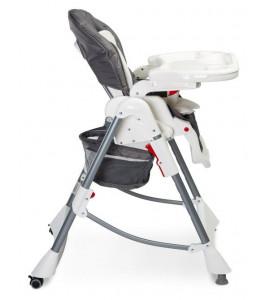 CARETERO Detská jedálenská stolička BISTRO 2019 GREY