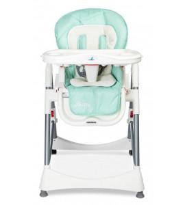 CARETERO Detská jedálenská stolička BISTRO 2019 MINT