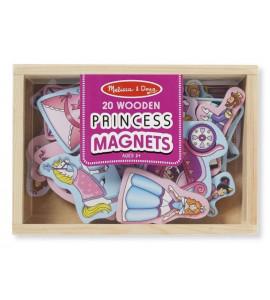 NEFERE Drevené magnetky - Princezny