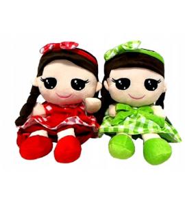 Tulilo Detský batôžtek bábika Kajka - červený