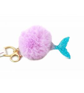 ADAM TOYS Kľúčenka s brmbolcami - morská víla