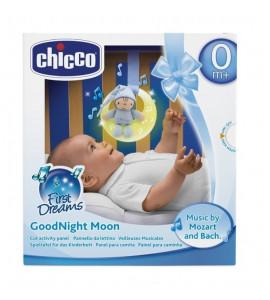 Chicco Hrajúci mesiac škriatok - modrý