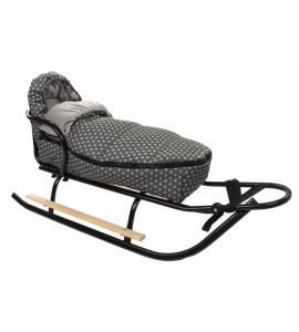 Baby Nellys® Fusak Maxi Baby Nellys ® 105x50cm - Army béžové