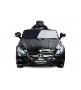 TOYZ Elektrické autíčko Toyz Mercedes S63 AMG-Benz-2 motory čierne
