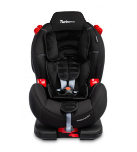 CARETERO Autosedačka CARETERO Sport TurboFix black 2016 9-25 kg