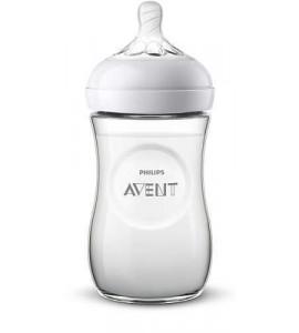 AVENT Dojčenská fľaša Avent Natural 260ml, dráčik, 1m+ SCF070/24