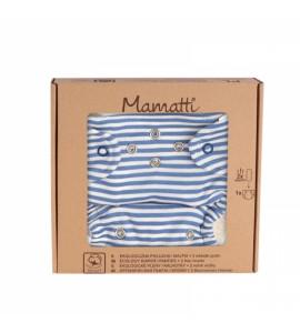 Mamatti Látková plienka EKO sada - nohavičky + 2 x plienka, veľ. 5 - 14 kg, World