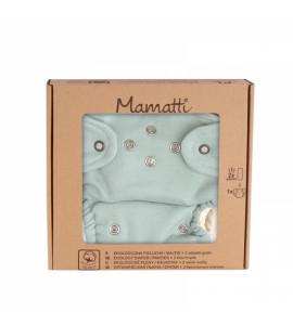 Mamatti Látková plienka EKO sada - nohavičky + 2 x plienka, veľ. 5 - 14 kg, Dino