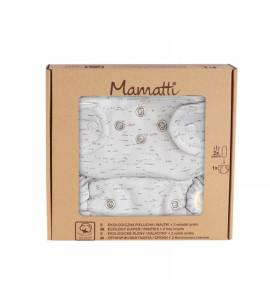 Mamatti Látková plienka EKO sada - nohavičky + 2 x plienka, veľ. 5 - 14 kg, Star