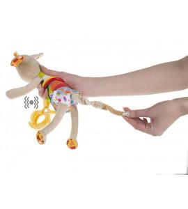 AKUKU Detská plyšová hračka s vibráciou psík