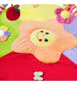 PlayTo Hracia deka PlayTo stonožka s hračkou