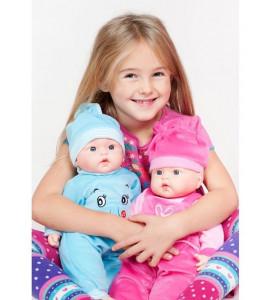 PlayTo Poľsky hovoriaca a spievajúca detská bábika Agatka 46 cm