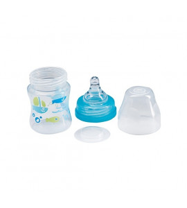BabyOno Antikoliková fľaštička so širokým hrdlom 120ml, BabyOno - matová