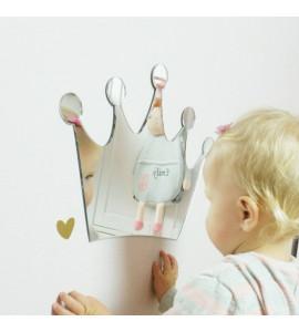 METOO - Zrkadlo Metoo na stenu - Koruna