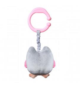 BabyOno Závesná hračka vibračná sova- Owl Sophia - ružová