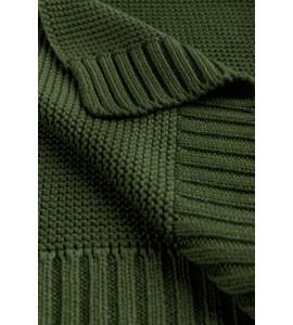 Sensillo Detská deka bambusovo-bavlnená 80x100 cm Zelená