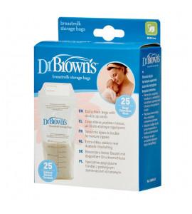 Dr. Brown´s Vrecká na materské mlieko 25 ks